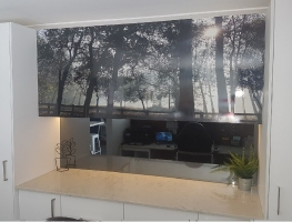 Digital Printed Office Cupboards by Graphic Glass Services
