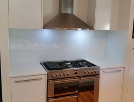 Colour Glass Splashback by Graphic Glass Services