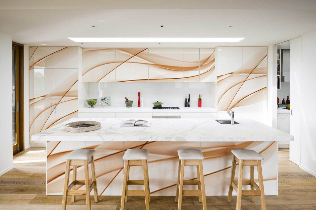 Printed Kitchen Cabinets Can Be Unique And Personalised Way To
