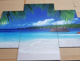 Digital Printed Ocean Image on Ceramic Tiles