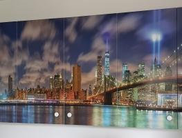 Brooklyn Bridge digital printed Image printed on kitchen cupboards by Diverse Grafik Design (1)
