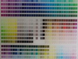 Pantone Colour Board