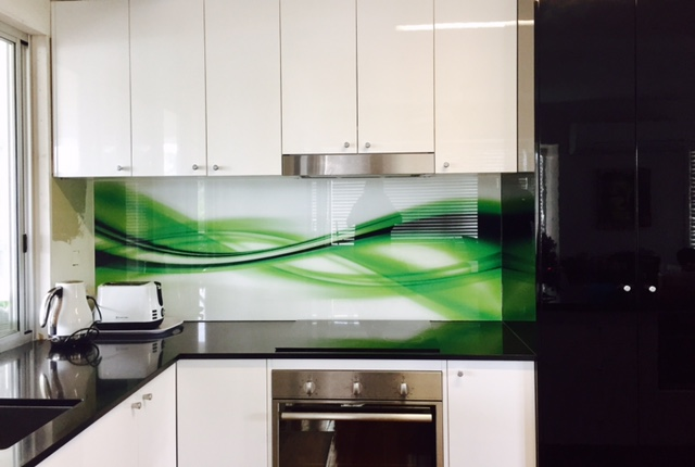 Custom Glass Splashback