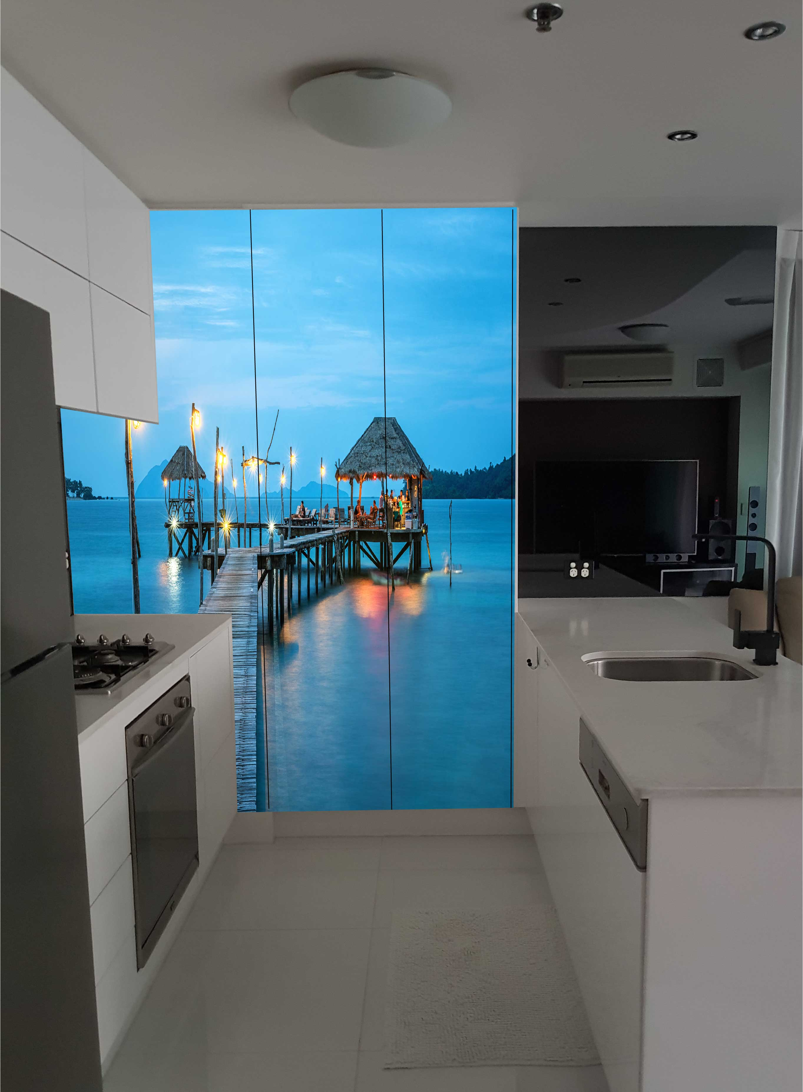 Custom Printed Glass Kitchen Splashbacks for your kitchen or ...