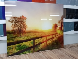 Sunrise Over Landscape by Graphic Glass Services