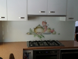 Digitally Printed Glass Splashback by Graphic Glass Services Qld