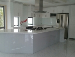 Smoking Chilli Glass Splashback by Graphic Glass Services