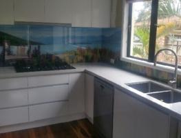 Print on Glass - New Zealand Lake Tekapo