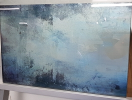 Digital Printed Aged Mirror Splashback