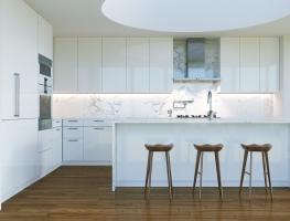 GraphiStone Carrara Marble Splashback