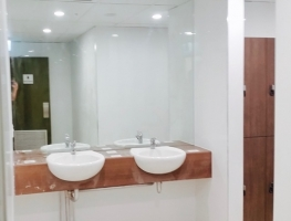 Clear Silver Vanity Mirror by Graphic Glass Services Qld