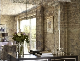Antique Mirror by Graphic Glass Services Qld