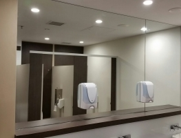 Amenities Mirror by Graphic Glass Services Qld