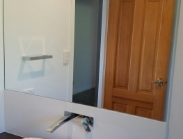 Bathroom Vanity Mirror by Graphic Glass Services Qld
