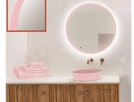 Pink Framed Mirrors