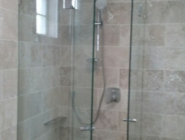Frameless Shower Screen by Graphic Glass Services