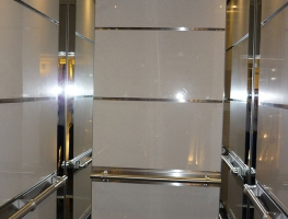 Colourback Safety Glass and Mirror Lift Interior ny Graphic Glass Services Qld