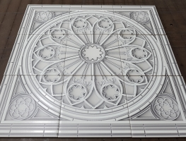 Digital Printed Ceramic Feature Tiles by Graphic Glass Services