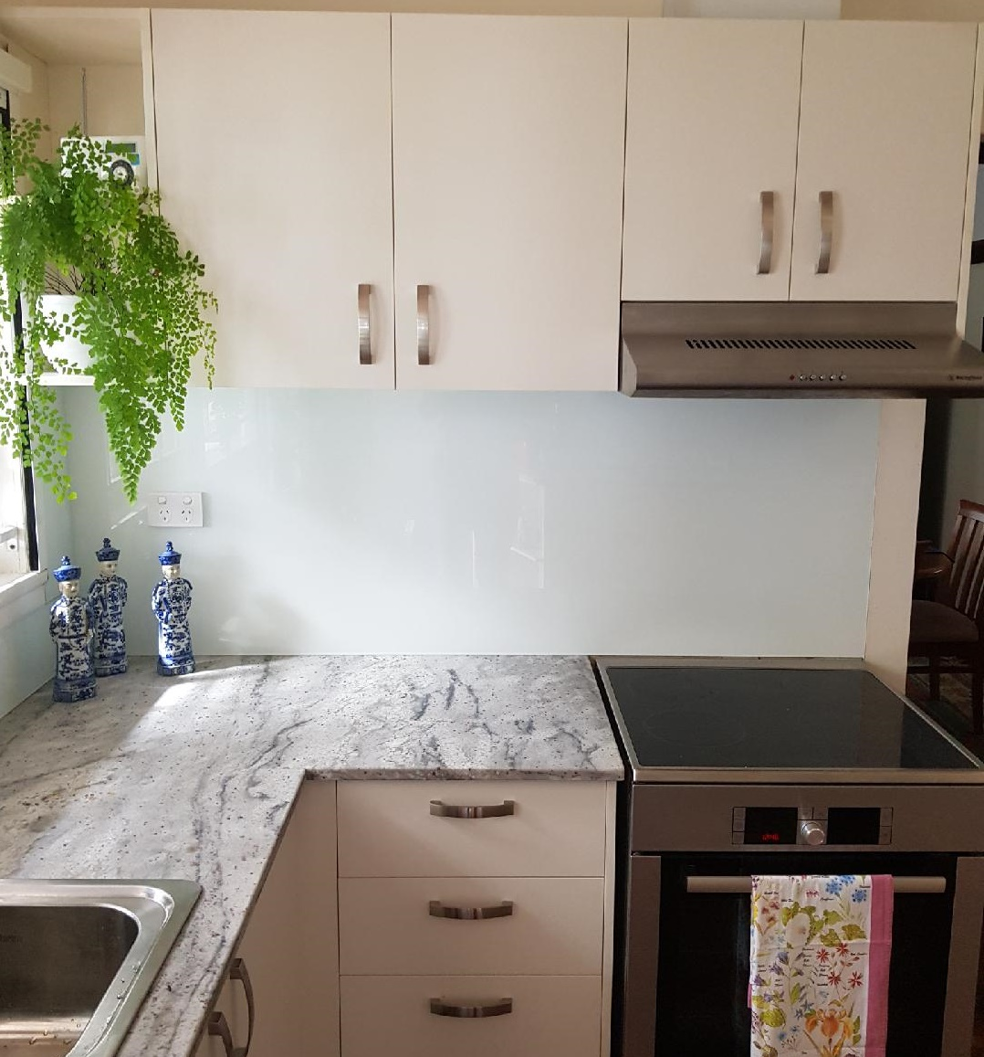 White #Brisbane #Colour #Kitchen #Graphic Glass Services #Reflective ...