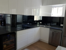 6mm Grey Tint Toughened Glass by Graphic Glass Services
