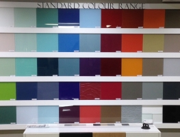 Glass Splashback colour range by Graphic Glass Services Qld