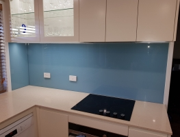 Dulux Lagoon Blue by Graphic Glass Services