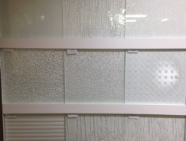 Graphic Glass Services Patterned Glass Sample Board