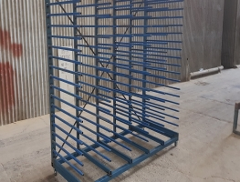 Welded Paint Rack for drying 2 Pac Painted Panels