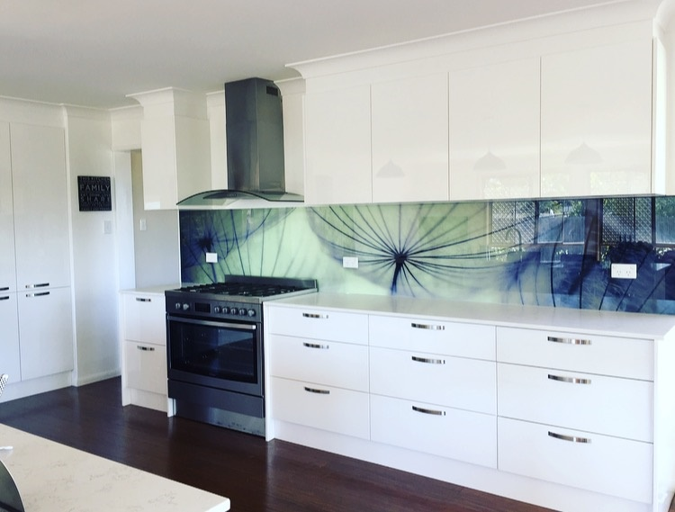 Merveilleux Printed Kitchen Splashback